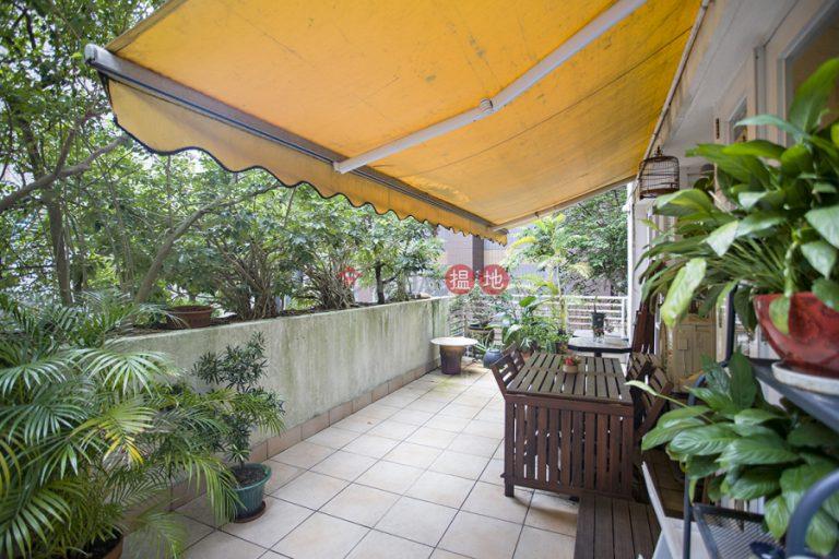 Enchanting Wrap Around Terrace