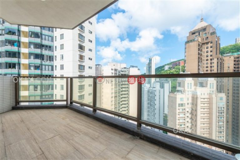 Rare 4 bedroom on high floor with balcony & parking | Rental