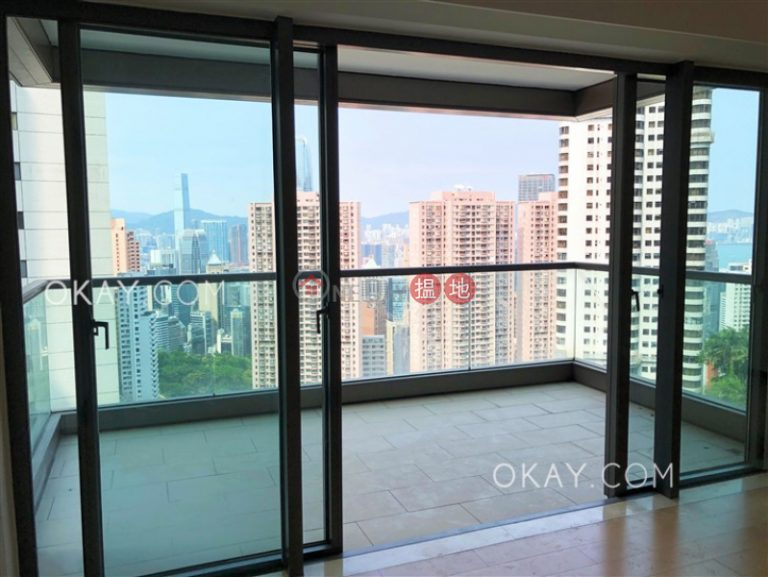 Luxurious 3 bedroom with harbour views, balcony | Rental